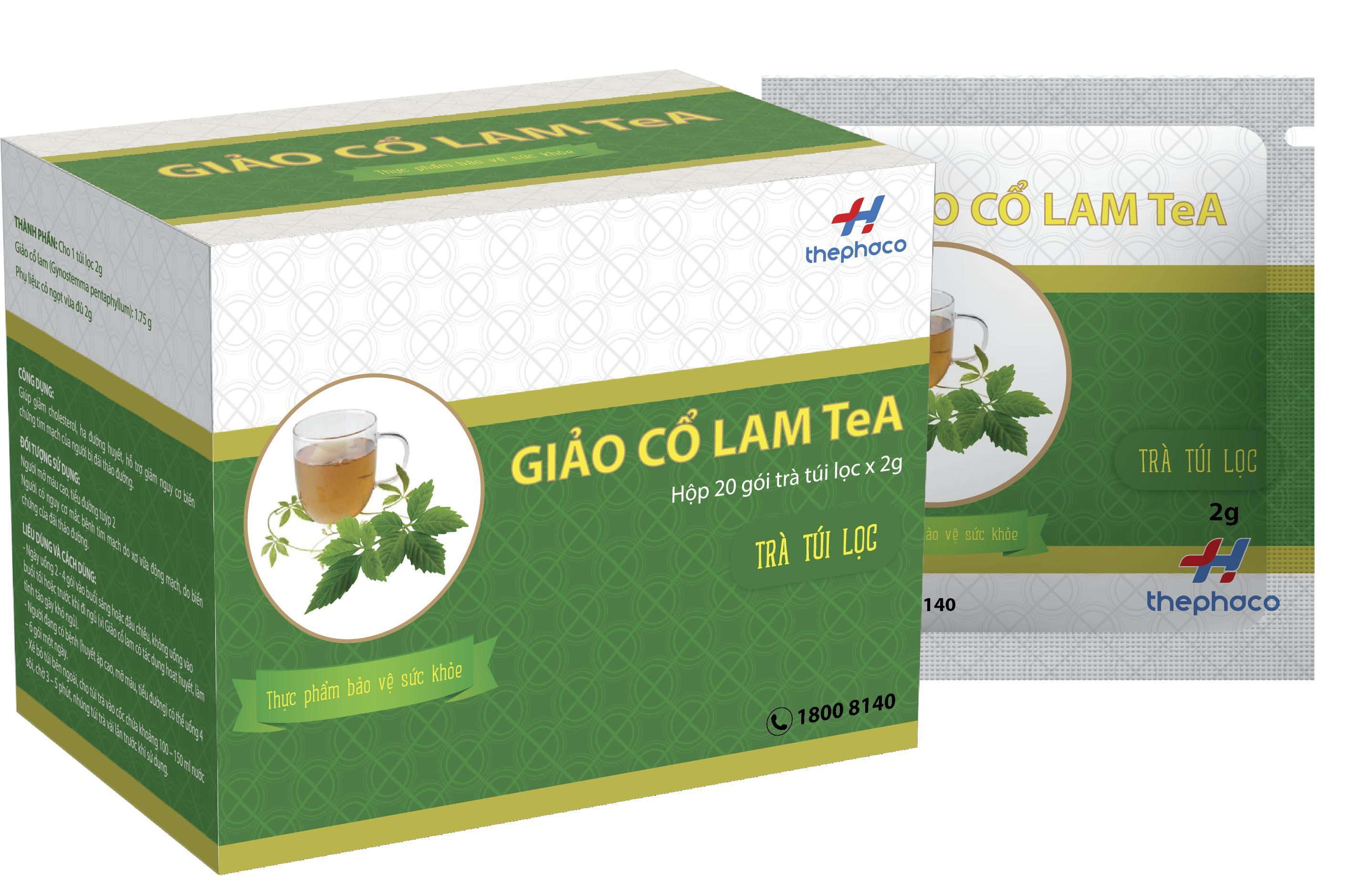 GIẢO CỔ LAM TEA